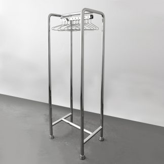 Cleanroom garment racks