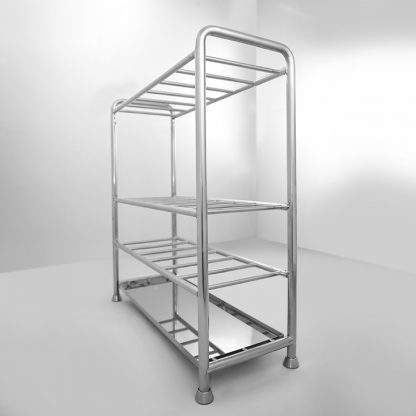Cleanroom rack for drying mops