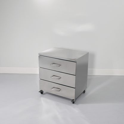 Cleanroom stainless steel drawer