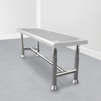 Cleanroom perforated bench