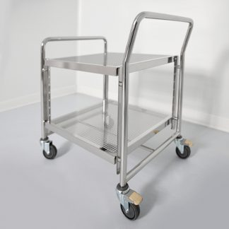 Cleanroom transport carts