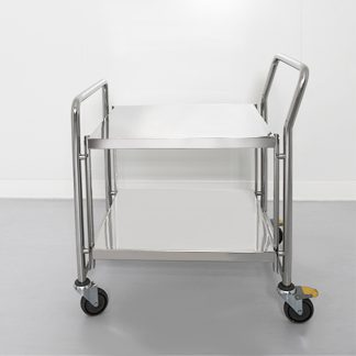 Cleanroom transport cart